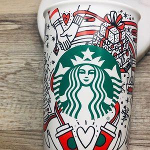 STARBUCKS ceramic cup  new